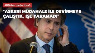 ABD Dışişleri Bakanı'ndan darbe itirafı