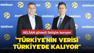 ASELSAN'ın verileri Türkiye'de korunuyor