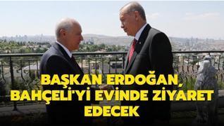 Başkan Erdoğan, MHP Genel Başkanı Bahçeli'yi ziyaret edecek