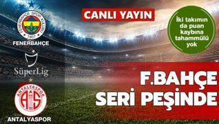 CANLI: Antalyaspor - Fenerbahçe