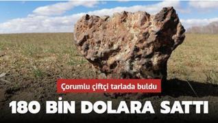Türkiye'nin en büyük üçüncü gök taşına ABD'den alıcı çıktı