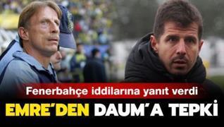 Emre Belözoğlu Daum'a patladı