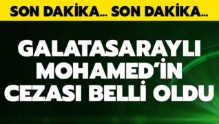Mostafa Mohamed'in cezası belli oldu