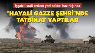 İşgalci İsrail ordusu yeni saldırı hazırlığında