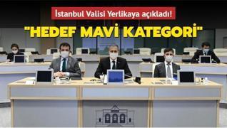 İstanbul Valisi Yerlikaya açıkladı: Hedef mavi kategori