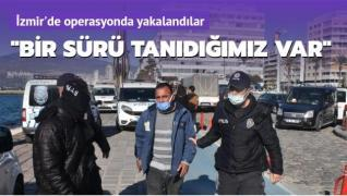 Operasyonda yakalanan değnekçiler gazetecilere saldırdı: Bir sürü tanıdığımız var