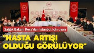 Sağlık Bakanı Koca'dan 'koronavirüs' toplantısı
