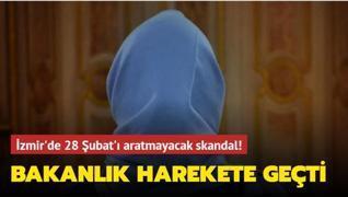 İzmir'de başörtülü öğrenciyi okula almayan okul yöneticisi ve öğretmen açığa alındı