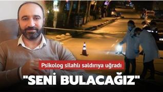 Psikolog Orhan Taruk silahlı saldırıya uğradı