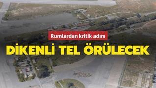 Güney Kıbrıs Rum Yönetimi 'Kuzey' sınırına dikenli tel örecek