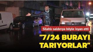 İstanbul'da hareketli anlar... İş yeri sahibi isyan etti