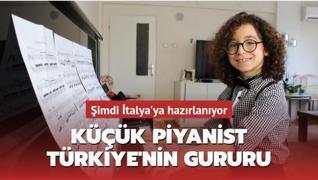 Küçük piyanist Türkiye'nin gururu