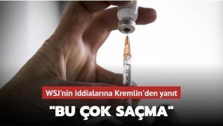 WSJ'nin Kovid-19 aşısıyla ilgili iddialarına Rusya'dan yanıt: Bu çok saçma