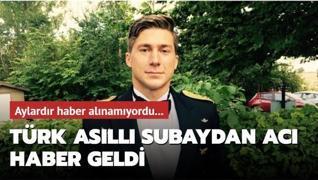Aylardır haber alınamıyordu... İsveç'te kaybolan Türk asıllı subaydan kötü haber