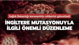 Son dakika haberi: Sağlık Bakanlığı koronavirüs rehberini güncelledi