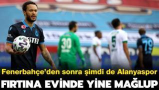 Trabzonspor sahasında yine mağlup