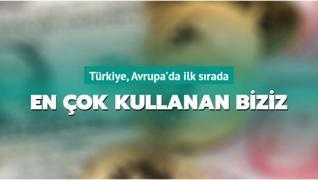 Türkiye, Avrupa'da ilk sırada