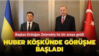 Başkan Erdoğan Zelenskiy ile bir araya geldi