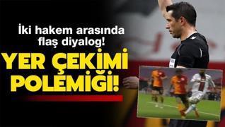G.Saray - Karagümrük maçının hakemleri arasında Yedlin diyalogu! Arda...