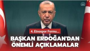 Son dakika haberi: Başkan Erdoğan, 4. Etnospor Formu'nda önemli açıklamalar
