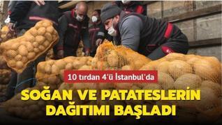 10 tırdan 4'ü İstanbul'da