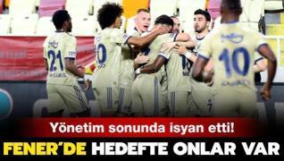 Fenerbahçe yönetimi bu kez isyan etti! Hedef futbolcular...