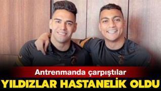 Galatasaray'ın yıldızları hastaneye kaldırıldı