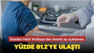 İstanbul Valisi Yerlikaya'dan önemli aşı açıklaması