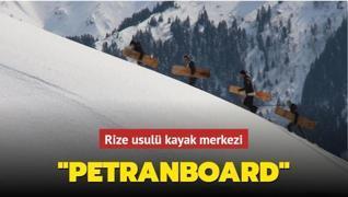Rize usulü kayak merkezi