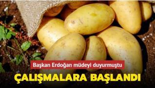 Başkan Erdoğan 'satın alınıp dağıtılacak' demişti... Çalışmalar başladı