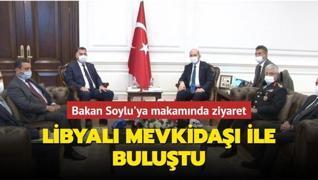 Bakan Soylu Libyalı mevkidaşı ile buluştu