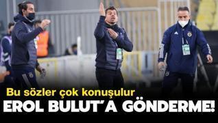 Emre Belözoğlu'ndan Erol Bulut'a gönderme!