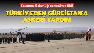 Türkiye'den Gürcistan'a askeri yardım