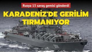 Karadeniz'de gerilim tırmanıyor