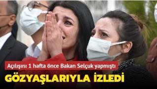Milli Eğitim Bakanı Selçuk 1 hafta önce açılışını yapmıştı: Masal Evi'nde korkutan yangın