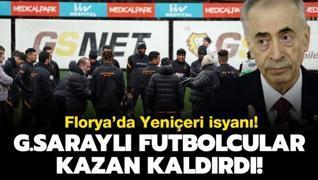 Florya'da futbolcular kazan kaldırdı! Mustafa Cengiz...