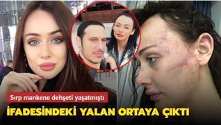 Sırp model Tanja Dukic'in darp davasında şok rapor ortaya çıktı: 112'yi aradım demişti