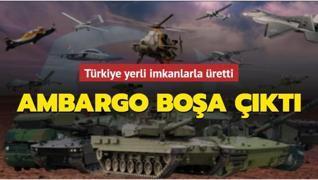 Türkiye'ye yönelik ambargolar boşa çıktı: İHA kamerası CATS yerli imkanlarla üretildi