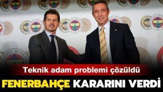 Fenerbahçe yönetimi yeni sezonun hocasını belirledi