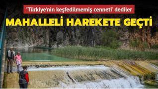 Türkiye'nin keşfedilmemiş bir güzelliği daha turizme kazandırılacak