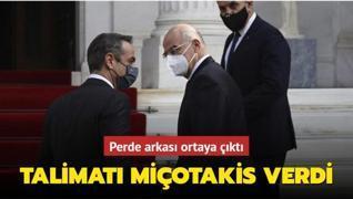 Yunanistan'dan 'planlı' provokasyon: Talimatı Miçotakis verdi