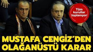 Mustafa Cengiz'den olağanüstü toplantı kararı