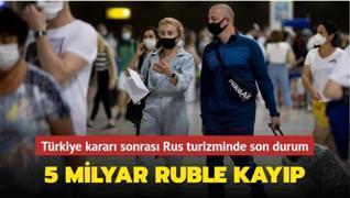 Türkiye kararı sonrası Rus turizminde son durum