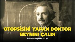 Einstein'ın beyin göçü: Kavanozda geçen 55 yıl