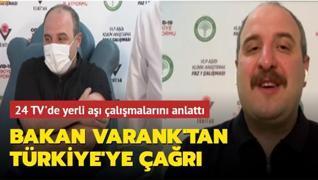 Bakan Varank'tan tüm Türkiye'ye çağrı