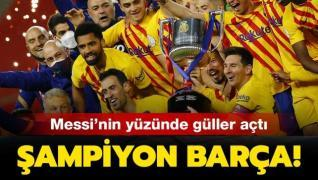 Kral Kupası'nda şampiyon Barcelona