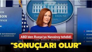 ABD'den Rusya'ya Navalnıy tehdidi