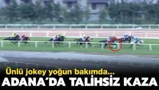 Adana'da talihsiz kaza: Jokey Samet Erkuş, yoğun bakımda