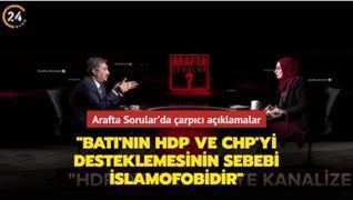 'Batı'nın HDP ve CHP'yi desteklemesinin sebebi İslamofobidir'