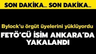 FETÖ'nün sözde emniyet sorumlusu Ankara'da yakalandı
